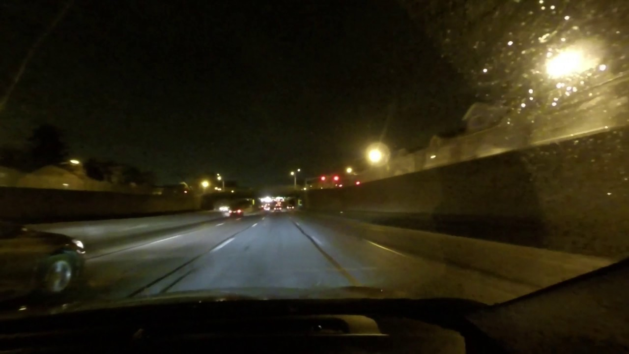Night time driving on the Garden State Parkway in Nj 2/15/2017 - YouTube