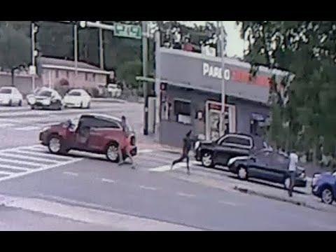Video  del momento en que actor mexicano golpea mortalmente a cubano