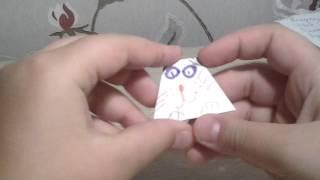 Оригами для начинающих: кошка-матрешка.