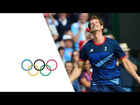 Andy Murray Wins Olympic Gold Medal v Roger Federer | London 2012 Olympics