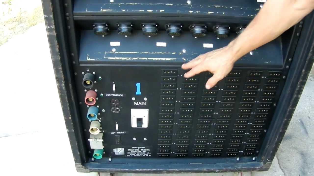etc dimmer rack for sale l86 48x2 4k