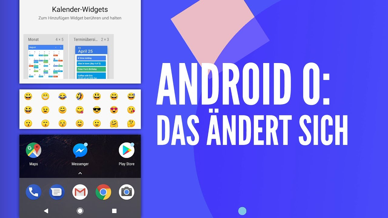 """Yput Youtube: Android 8.0 """"O"""": Die 6 Besten Features Im Detail"""