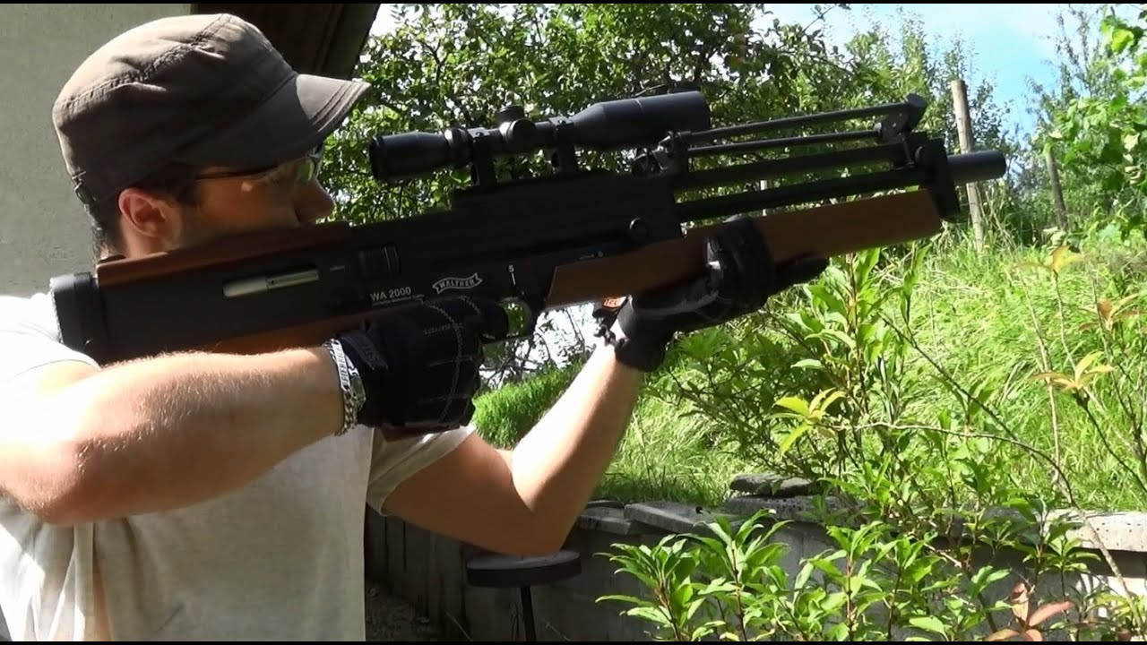 Yput Youtube: Walther WA2000 ARES. Présentation Française. Airsoft. (n