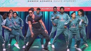 Tiger Shroff का LIVE DANCE Performance Ganesh Acharya के Dance Academy Launch पर