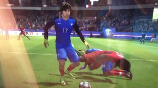 Уроки отнимание мяча#3(FIFA17)