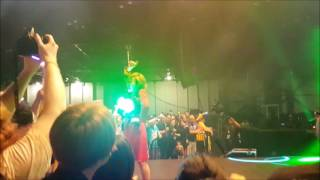 Gacharic Spin performing Lock On!! in Houston's Anime Matsuri.
