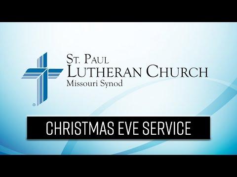 St Paul Lutheran Church - Christmas Eve