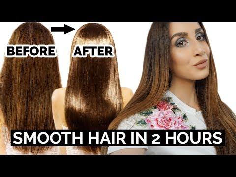 Silky Smooth Hair In 2 Hours | DIY Hair Mask