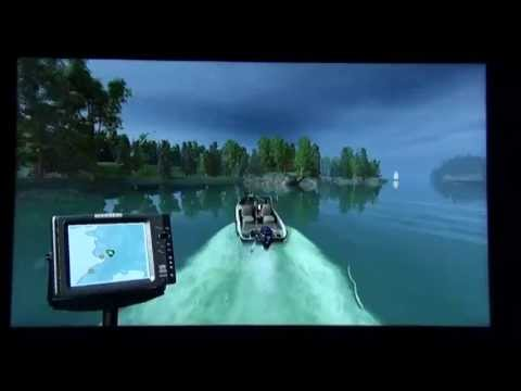 Rapala Pro Bass Fishing 2010 Gameplay (PS3 - With Move) (HD 720p)