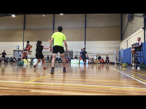 2018 LiveLighter South-West Championships - Yingxiang Lin/Yuli Zheng vs Andrew Belcher/Crystal Diep