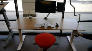 Uprise Height Adjustable Desk - Virtually Silent