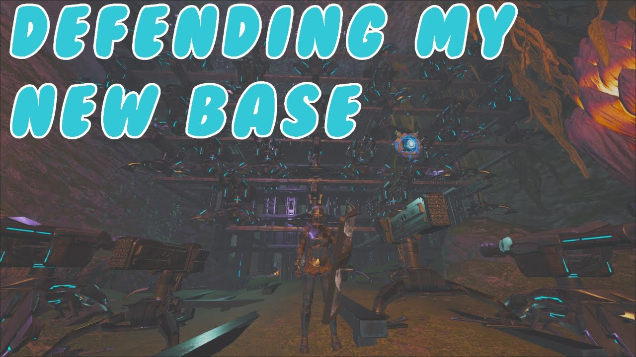Defending My Day 5 Base: Ark: Official Small Tribes Pvp