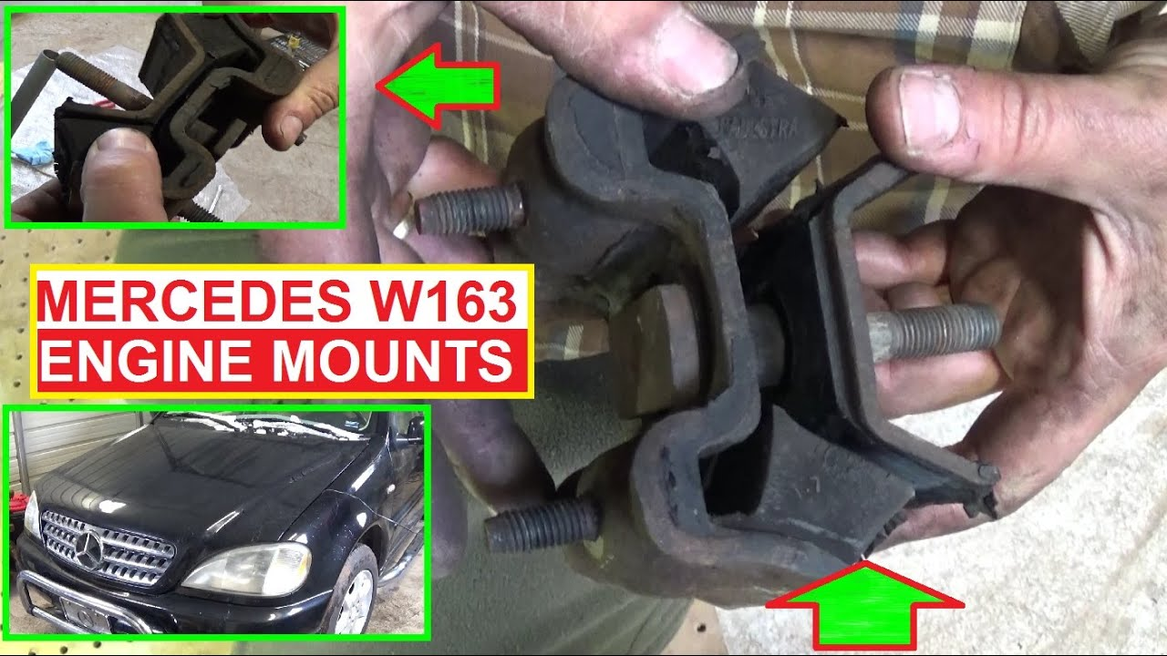 Engine mounts replacement mercedes w163 ml230 ml270 ml320 for Mercedes benz motor mounts