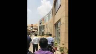 Vatal Nagaraj and Team Protest In PVR Phoenix market city at Mahadevapura regarding Bahubali Release