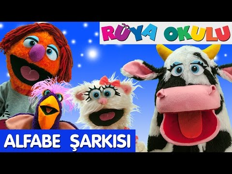 ABC Alfabe | Çizgi Film Eğitici Çocuk Şarkıları | Türkçe | RÜYA OKULU