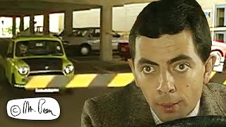 Stuck in the Car Park | Mr. Bean Official