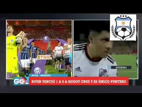 Enzo Perez analizó el triunfo ante Godoy Cruz