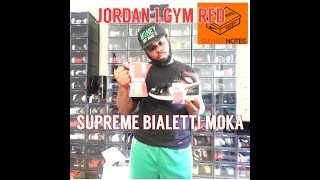 Air Jordan 1 Gym Red compared to Jordan 1 No Photos & Jordan 1 Spiderverse