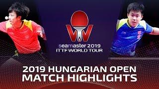Lin Gaoyuan vs Wang Chuqin   2019 ITTF World Tour Hungarian Open Highlights (Final)