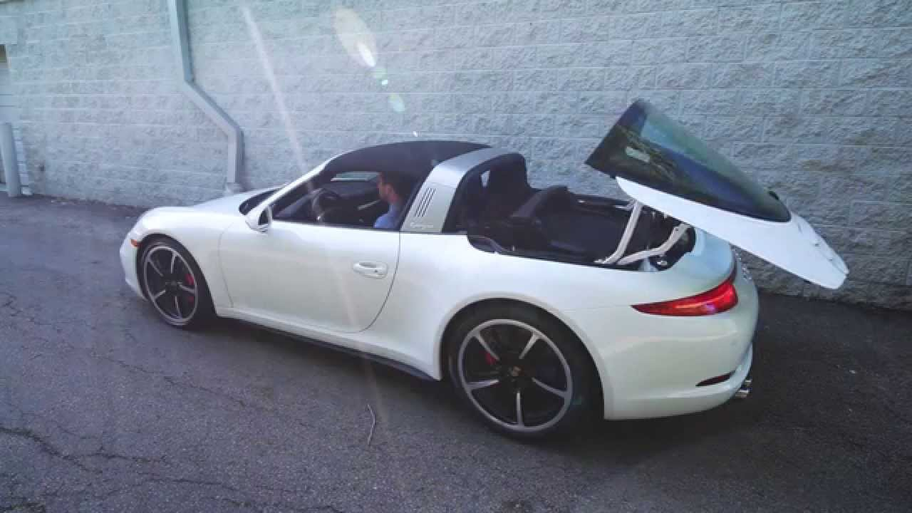 2015 porsche targa 991 911 roof mechanism in operation porsche 2015 porsche targa 991 911 roof mechanism in operation porsche exchange youtube sciox Image collections