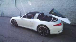 2015 Porsche Targa 991 911 - R๐of Mechanism in Operation - Porsche Exchange