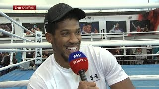 RAW! Anthony Joshua ranks his toughest opponents, talks Povetkin preparation & on Whyte/Parker wins
