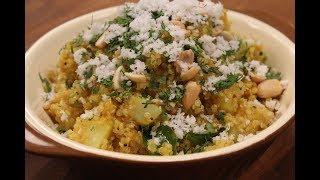 Quinoa Poha  Healthy Recipes  Sanjeev Kapoor Khazana