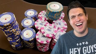 My $25,525 Pot With Pocket Queens At The Bicycle Casino