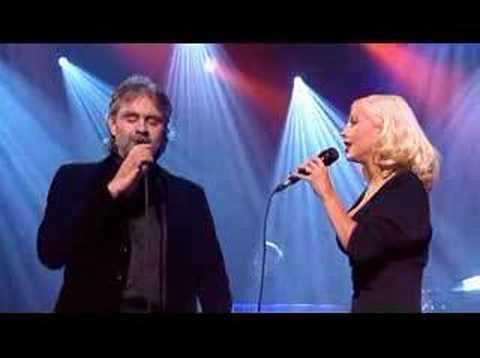 Andrea Bocelli & Christina Aguilera
