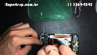Como trocar a Tela Touch LCD Frontal do Moto X Display Completo Tutorial