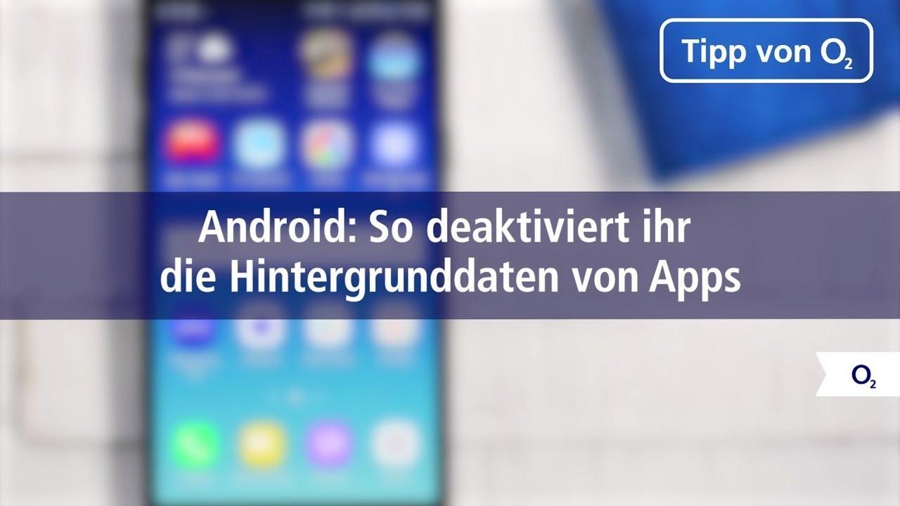 Android hintergrund apps deaktivieren