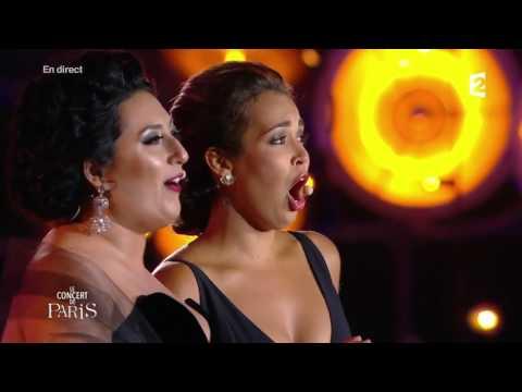 Léo Delibes   Lakmé 'Duo des fleurs' Nadine Sierra   Anita Rachvelishvili, Concert de Paris 2017 cut