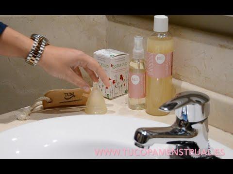 jabon neutro para lavar copa menstrual