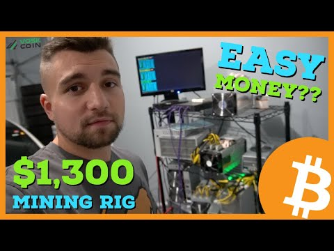Was This $1,300 Crypto Mining Rig A GOOD BUY?! EASY MONEY??