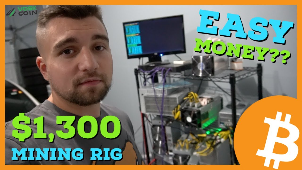 Was This 1 300 Crypto Mining Rig A Good Buy Easy Money Youtube