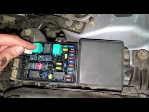 Acura Tsx Ac Fuses And Relays Youtube
