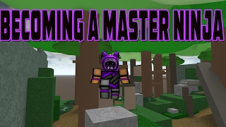 BECOMING A MASTER NINJA IN ROBLOX | iBeMaine