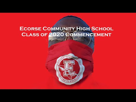 Ecorse Community High School Class of 2020 Commencement