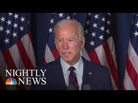 Joe Biden Calls For President Donald Trump's Impeachment | NBC Nightly News