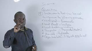 316 Mr Wambete Isaiah Biotic Environment  SCIENCE YEAR 9