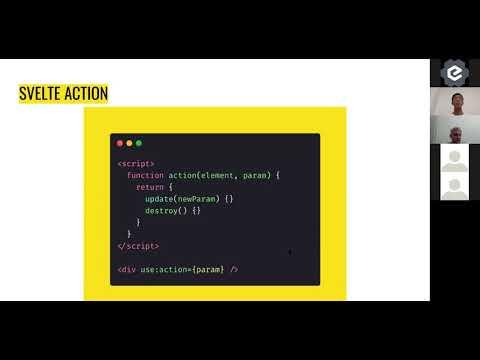 Introduction to Svelte actions - Singapore JS