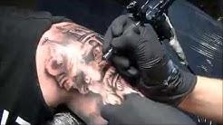 Zeus - Tattoo time lapse