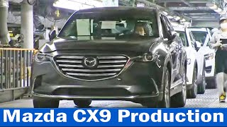 Mazda CX5 and CX9 Production (Ujina, Hiroshima, Japan) Mazda CX9 Plant, Mazda CX5 Assembly Line