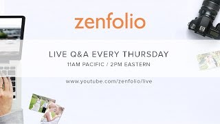 Zenfolio Live October 12th  2017 - How to get your clients to their online gallery! thumbnail