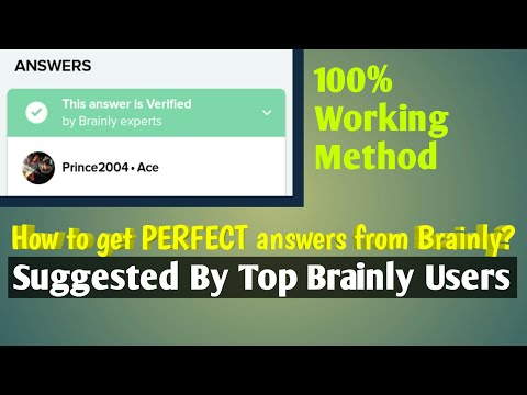 How to get perfect answers from Brainly?