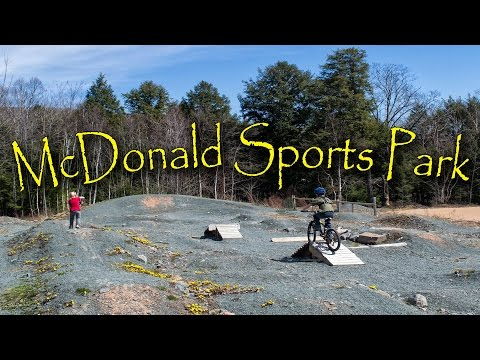 Biking Around McDonald Sports Park - Waverly, Nova Scotia