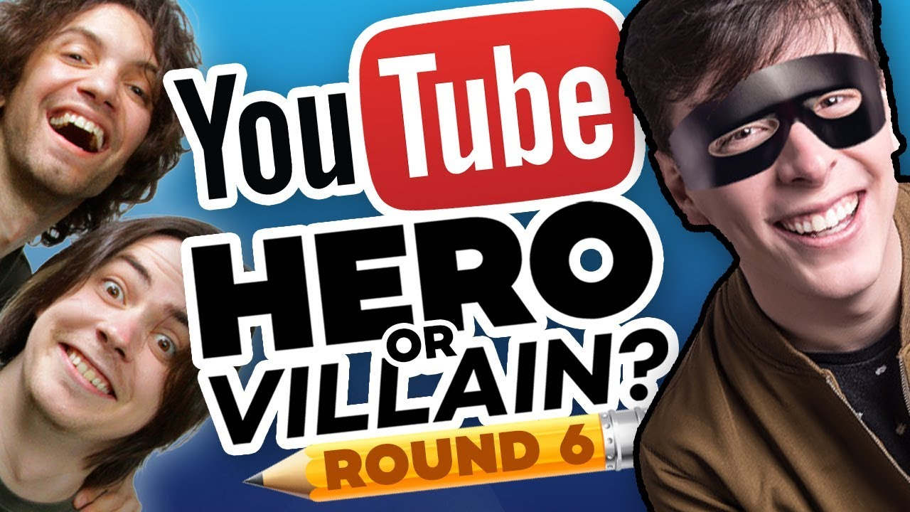 drawing-youtubers-as-heroes-villains-round-6-ft-game-grumps-and-thomas-sanders