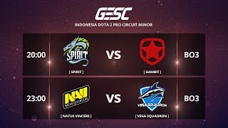 NaVi vs Vega Squadron BO3 @GESChampionship Jakarta Minor , CIS Qualifier - Day 1