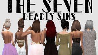 The Seven Deadly Sins - Sims 4 CAS