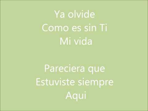 la separación - Angie Vasquez [letra]